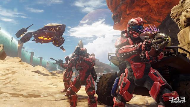 Подробности улучшения Halo 5 для Xbox One X