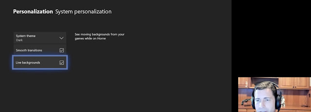 Динамичные темы вскоре станут доступны на Xbox One