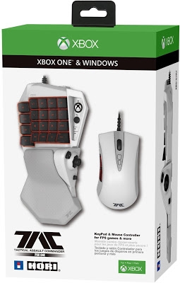 Официально анонсированы первые клавиатура и мышь для Xbox One