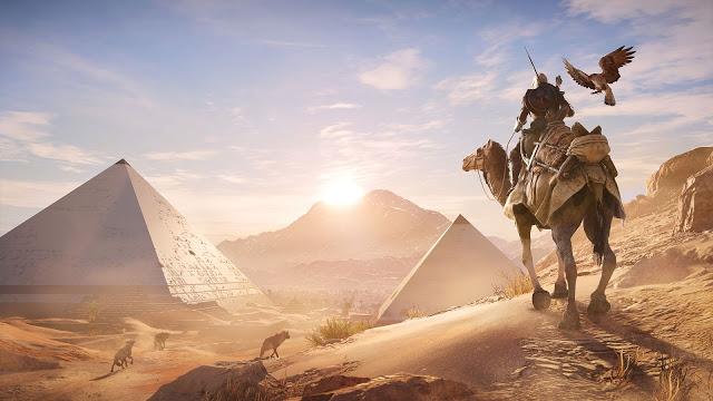 Сравнение графики в игре Assassin's Creed Origins на Xbox One, Playstation 4 и PC