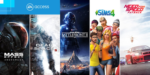Mass Effect Andromeda, Dead Space 3, NFS Payback и другие новинки в EA Access