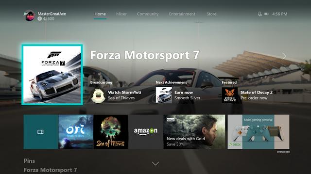 Состоялся релиз осеннего обновления прошивки Xbox One: полный список изменений