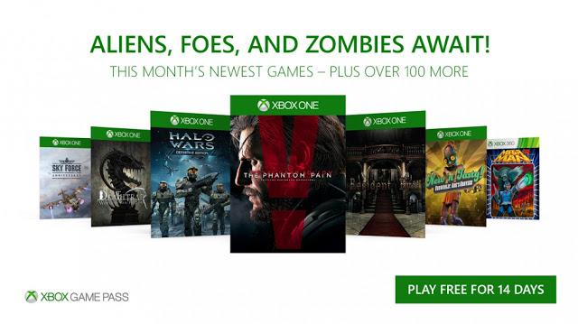 Новые бесплатные игры по программе Xbox Game Pass в ноябре