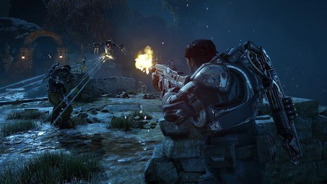 Разработчики Gears of War 4 показали, как игра выглядит на Xbox One X