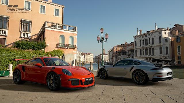 Сравнение Gran Turismo Sport и Forza Motorsport 7