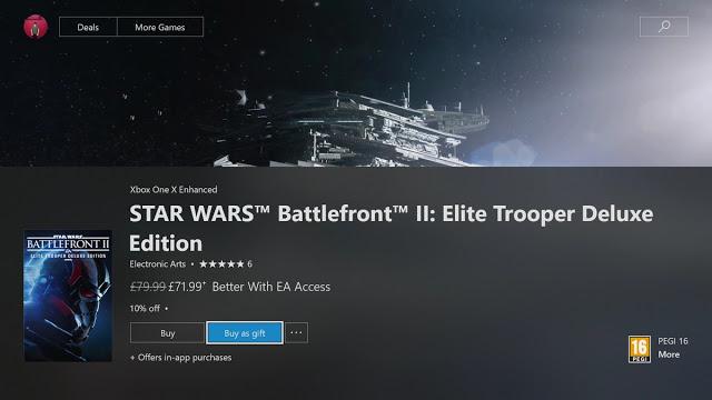 Все игроки теперь могут дарить игры в магазине Xbox
