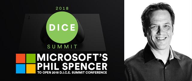 Фил Спенсер расскажет о стратегии развития игрового подразделения Microsoft на саммите D.I.C.E.
