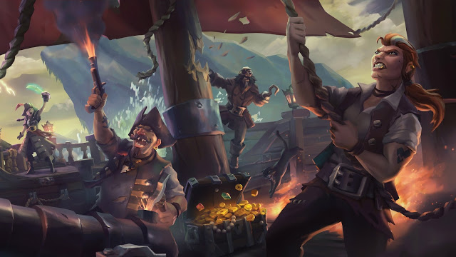 Rare рассказала подробности о развитии в Sea of Thieves, а также об отсутствии в игре микротранзакций