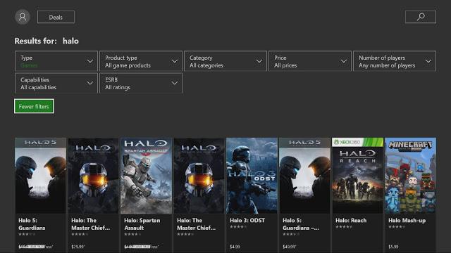 В Microsoft Store на Xbox One стали доступны новые фильтры