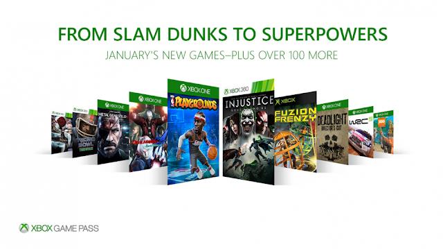 Бесплатные январские игры по Xbox Game Pass доступны уже сейчас