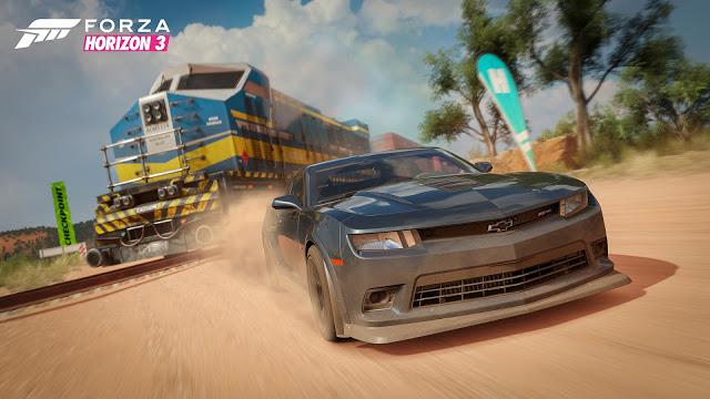 Forza Horizon 3 получит 15 января улучшение под Xbox One X