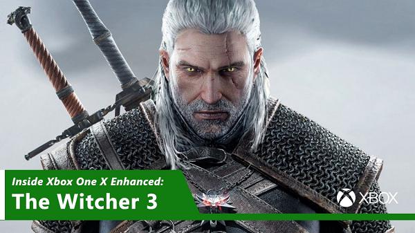 Обновление Witcher 3 для Xbox One X все ближе