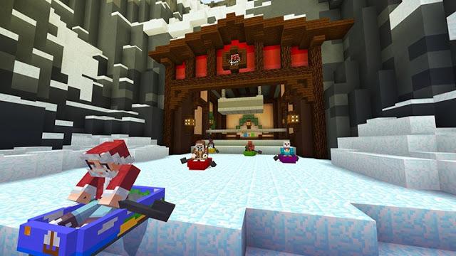 В честь нового года Microsoft раздаст 12 бесплатных DLC для Minecraft