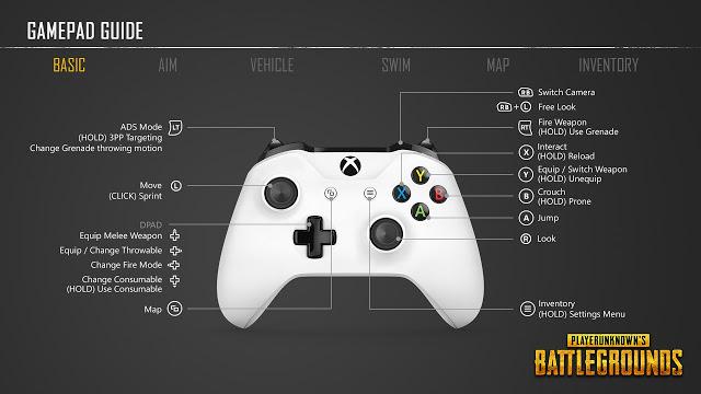 Разработчики игры PlayerUnknown's Battlegrounds показали управление на геймпаде Xbox One