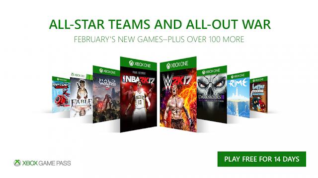 Xbox Game Pass февраль: объявлены новые 8 бесплатных игр