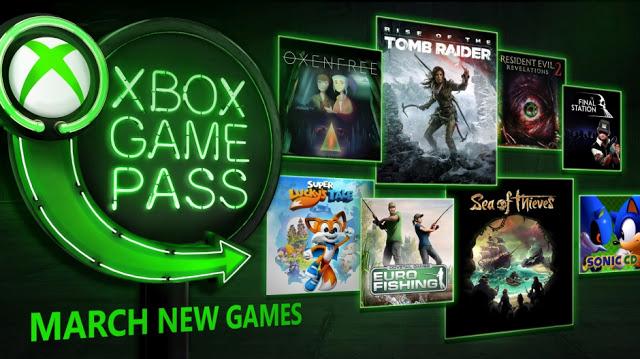 8 новых игр будут добавлены в Xbox Game Pass в марте: полный список