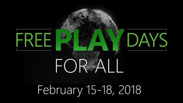 Мультиплеер на Xbox One будет бесплатным с 15 по 18 февраля