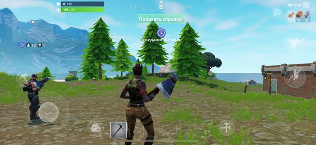 Состоялся релиз мобильной версии игры Fortnite