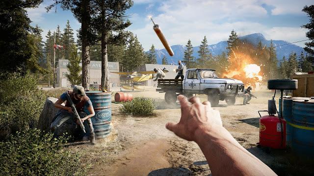 Сравнение Far Cry 5 на Xbox One, Xbox One X и Playstation 4 Pro