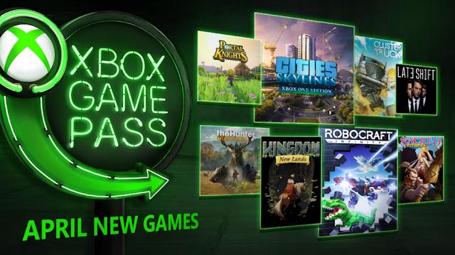 Список новых бесплатных игр в Xbox Game Pass в апреле