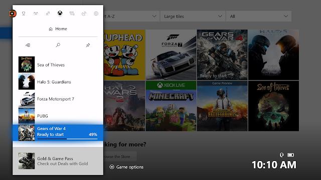 Прогресс загрузки в «Руководстве» теперь доступен всем на Xbox One