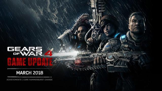 11 новых достижений появится в Gears of War 4 с мартовским обновлением