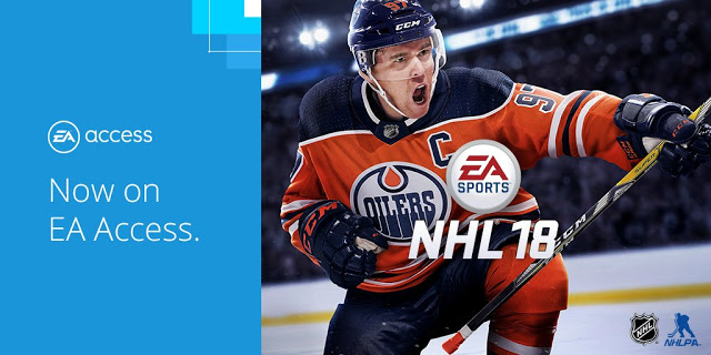 EA Sports NHL 18 стала доступна бесплатно в EA Access