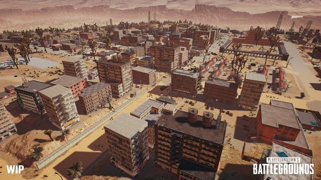 Пустынная карта в PUBG на Xbox One появится в мае