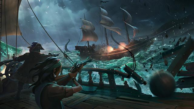 Вышло крупное обновление для Sea of Thieves: список изменений