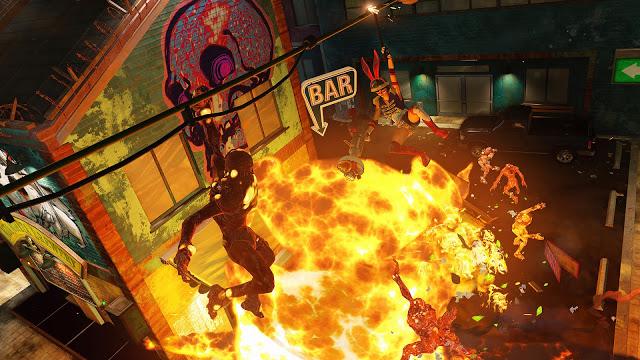 Разработчики Sunset Overdrive: про обновление для Xbox One X и сиквел