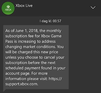 Microsoft поднимет цену за подписку Xbox Game Pass в Европе с 1 июня