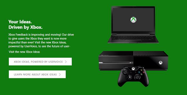 Microsoft запустила Xbox Ideas – новый сервис для сбора предложений пользователей