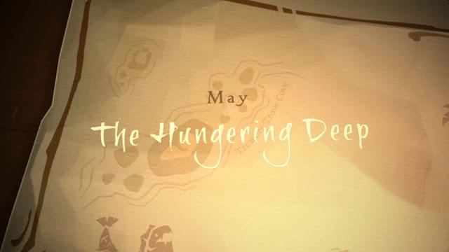 Первое крупное DLC The Hungering Deep для Sea of Thieves выйдет 29 мая