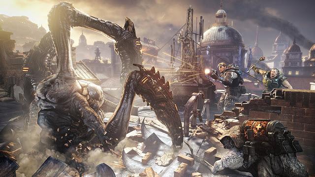 Microsoft может анонсировать на E3 три игры серии Gears of War