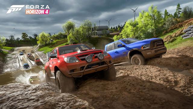 Сравнение достопримечательностей в Forza Horizon 4 с реальными прототипами