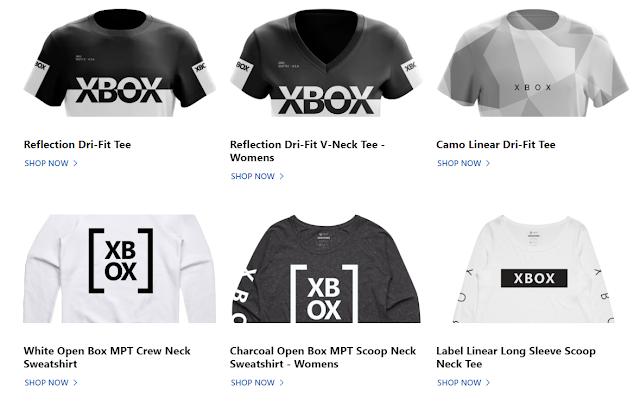 Microsoft запустила официальный магазин мерча Xbox