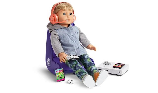 Microsoft и Mattel выпустят игровой набор с консолью Xbox One S для куклы Baby Doll