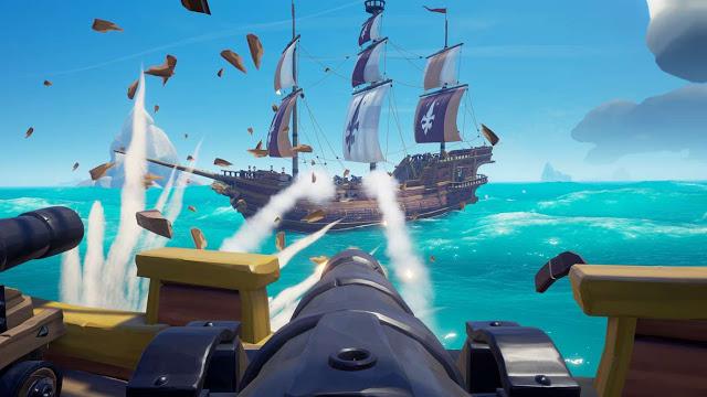 Игроки мадридского «Реала» уплыли искать сокровища в Sea of Thieves