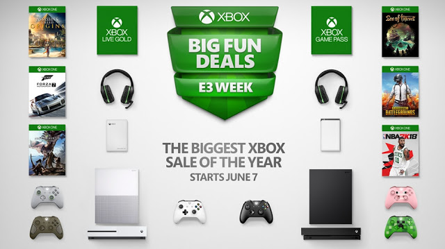 Крупная распродажа игр для Xbox One в честь E3 2018: более 300 игр со скидкой