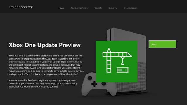 Microsoft позволит тестировать экспериментальные функции Xbox