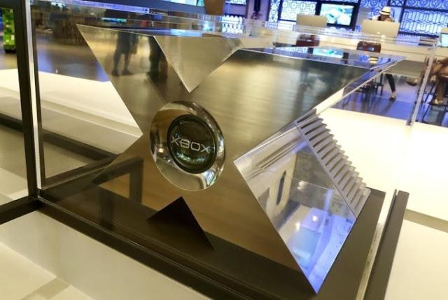 Прототип первого Xbox установили в Microsoft Visitor Center