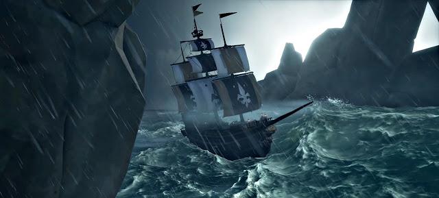 Новый вид кораблей появится в Sea of Thieves с дополнением Cursed Sails