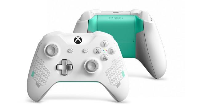 Microsoft анонсировала новый геймпад для Xbox One - Sport White Special Edition