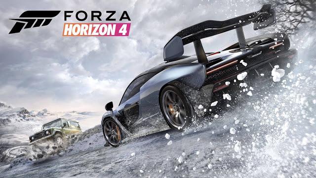 Разработчики Forza Horizon 4 показали зимний геймплей