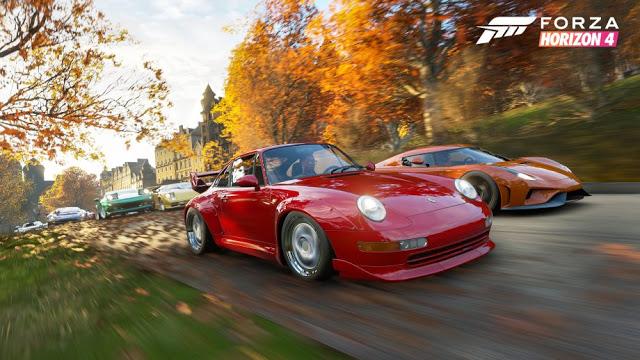 Трейлер Forza Horzion 4 воссоздали в редакторе GTA V