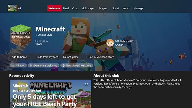 Microsoft заменила игровые хабы официальными клубами в Xbox Live