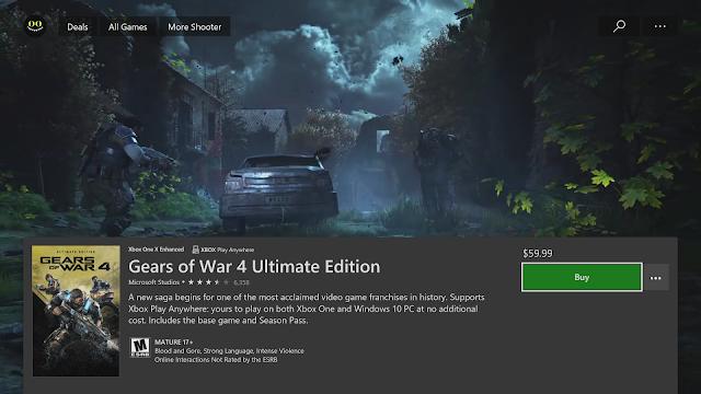 Microsoft обновила дизайн магазина Xbox на приставке Xbox One
