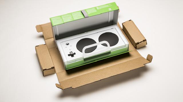 Microsoft рассказала об особенностях упаковки Xbox Adaptive Gamepad и показала распаковку