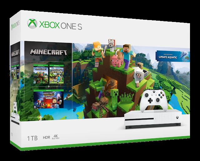 Microsoft анонсировала два новых бандла: Xbox One X и Xbox One S