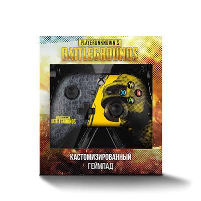 В России стал доступен геймпад Xbox One в стиле PUBG